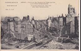 AQ45 WW1 - Arras, Environs De L'Hotel De Ville Apres Divers Bombardements - Arras