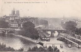 AQ45 Paris, Pont Neuf Et Pointe Du Vert Galant - The River Seine And Its Banks