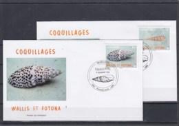 Wallis Und Futuna Michel Cat.No. FDC Issued 2012 Shells - FDC