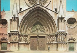 Espagne Tarragona Cathedrale Porte Principale (2 Scans) - Tarragona