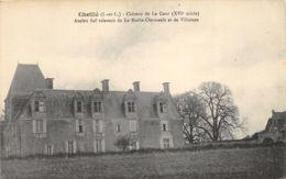 Cheillé - Château De La Cour - France