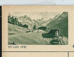 Carte Illustré Neuve N° 182 - 0352  D  -   ST - LUC (VS)   (Zumstein 2009) - Ganzsachen