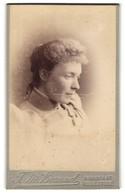 Photo T.M Braund, Folkestone, Portrait Frau Mit Modischer Haartracht - Anonymous Persons
