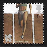 GB 2009 LONDON OLYMPICS ATHLETICS TRACK EVENTS - 1952-.... (Elisabeth II.)