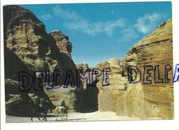 Jordanie. Essik. Principale Entrée Des Ruines De Petra. Holy Views - Jordanie