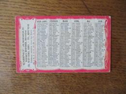 1936 CABINET JURIDIQUE GEORGES BERNIER DIRECTEUR 155 FG ST-DENIS PARIS - Calendarios