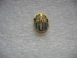 Pin's Embleme Club De Football, FC INTER De Milan - Rugby