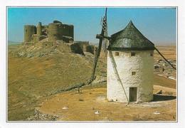 Espagne Mancha Moulin à Consuegra (2 Scans) - Toledo