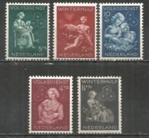 Netherlands 1944 Year , Mint Stamps MNH (**) - 1891-1948 (Wilhelmine)