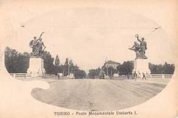 "4899 "" TORINO-PONTE MONUMENTALE UMBERTO I ""-CART. POST.OR. NON SPED. - Bridges"