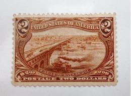 USA #293** Mississippi River Bridge (1898) MNH /YT 137** - Unused Stamps