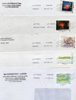 France, Lot De 5 Enveloppes Avec Timbres Collectors. - Collectors