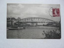 CPA  60 OISE - PONT SAINTE MAXENCE : Le Pont - Pont Sainte Maxence