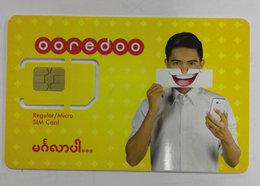 Myanmar GSM SIM Card,unused,fixed Chip Card - Myanmar