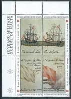 SMOM, 1997 - Maritime Signale, UN 514/17 Mnh - Malta (Orden Von)