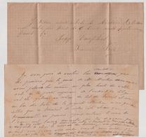 FRANCE Lettres Anciennes  SOSPEL (Alpes Maritimes) Lot Original De 32 Lettres Avec Son Courrier........... - Documenti Storici