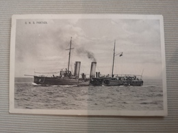MIL824  --  SMS SCHIFF  ,, PANTHER ,,  --   KUK KRIEGSMARINE   --   AUSTRIA KROATIEN, CROATIA - Weltkrieg 1914-18