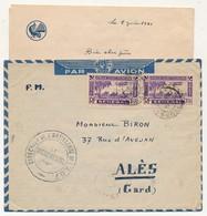 """SENEGAL - Enveloppe Depuis Dakar 1941 - Cachet """"Direction De L'Artillerie De L'A.O.F. Le Vaguemestre"""" - Lettres & Documents"""