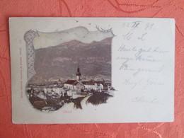 Chur. Carte 1898 - GR Grisons