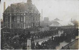 DECAZEVILLE : Carte Photo De Barthe  ( Grèves De 1886 Ei Intervention De Lla Gendamerie à Cheval ?) - Decazeville