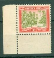 Samoa: 1939   25th Anniv Of New Zealand Control   SG195   1d   MH - Samoa