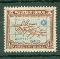 Samoa: 1939   25th Anniv Of New Zealand Control   SG196   1½d   MH - Samoa