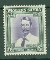 Samoa: 1939   25th Anniv Of New Zealand Control   SG198   7d   MH - Samoa