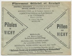 Postal Cheque Cover Belgium 1937 Pills - Vichy - Liver - Labor - Ferry Boat - Oostende - Dover - Pharmacy