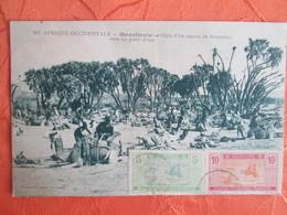 Mauritanie . Halte D Un Convoi De Goumiers Vers Un Point D Eau - Mauritanie