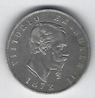 ITALIE VITORIO 1872 5L - 1861-1946 : Kingdom
