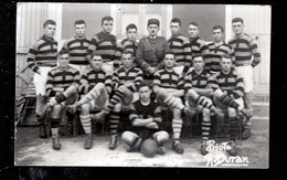 BTE 66 Perpignan Carte Photo A. Duran équipe De Rugby (militaire?) - Perpignan