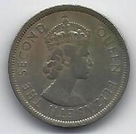 HONG KONG 1960 ONE DOLLAR - Hong Kong