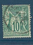 Timbre Oblitéré  France, N°65 Yt, Type Sage (type I), - 1876-1878 Sage (Type I)