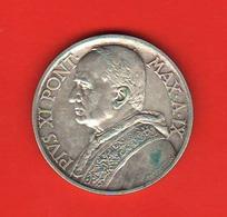 10 Lire 1930 Vaticano Papa Pio XI° Anno IX° Silver Coin - Vaticano