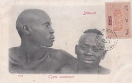 DJIBOUTI / TYPES SOUDANAIS  / MARCOPHILIE / BELLE OBLITERATION 20 C OBOCK - Djibouti