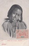 DJIBOUTI / FILLETTE TRIBU ASSAORTA / MARCOPHILIE / BELLE OBLITERATION 40 C OBOCK - Djibouti