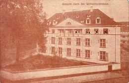 D67  STRASBOURG KAISERLISCHE FESTUNGS LAZARETH STRASBOURG Koch Und Haushaltungs Schule Ansicht Nach Der Wilhelmerstrasse - Straatsburg