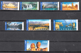 Austrlie 2000 Mi Nr  1928 - 1935, Bezienswaardigheden En Landschappen, Compleet - 2000-09 Elizabeth II