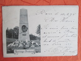 Barr .   Herings Denkmal  1898 - Barr