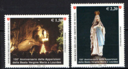 SMOM - 2008 - 150° ANNIVERSARIO DELEL APPARIZIONI DELLA MADONNA DI LOURDES - MNH - Sovrano Militare Ordine Di Malta
