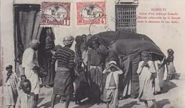 DJIBOUTI / SCENE D UN MARIAGE SOMALIS  / MARCOPHILIE / BELLE OBLITERATION  COTES DES SOMALIES - Djibouti
