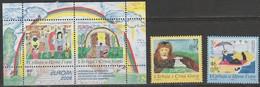 Serbie Et Montenegro Europa 2006 N° 3156/ 3157 Et BF 66 ** Integration - Europa-CEPT