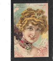 Théme-Publicité-Collection Des *Biscuits PERNOT*-Beau Portrait D'une Femme FRANCAISE- - Advertising