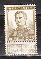 112*  Pellens - Bonne Valeur - MH* - LOOK!!!! - 1912 Pellens