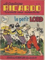 Capitaine RICARDO N° 352- Le Petit LORD - TBE - Aventure