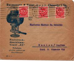 Busta Commerciale - Weimar - (220) - Deutschland