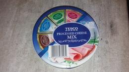 Cheese Queso Kase Label Etikette Etiqueta Hungary Tesco Nature Mushroom Herbal Ham BOX MIX - Quesos