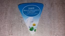 Cheese Queso Kase Label Etikette Etiqueta Hungary Tesco Nature Creamy - Quesos