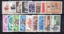 BIG - REPUBBLICA 1964 , L'annata Completa Di 17 Valori     ***  MNH - 6. 1946-.. Repubblica