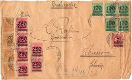 Busta Commerciale- Alcuni Bolli Mancanti O Piegati  - Weimar - (220) - Deutschland